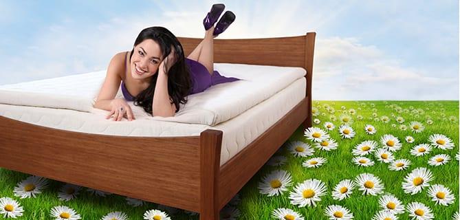 Sắc màu giường ngủ và sức khỏe 2