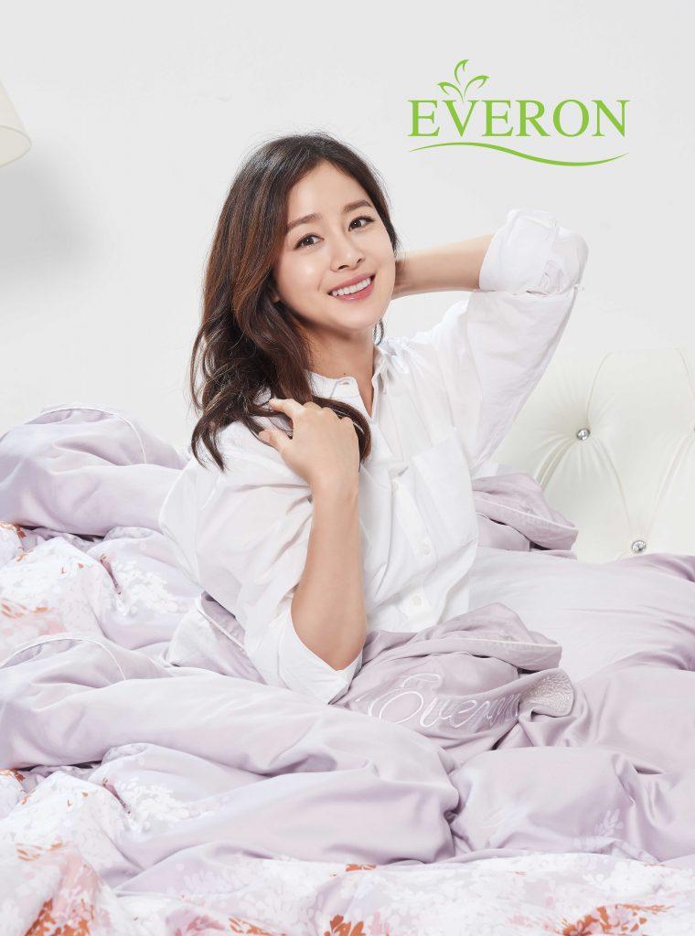 Kim Tae Hee – Đại sứ thương hiệu Everon gửi lời chào tới fan Việt 3